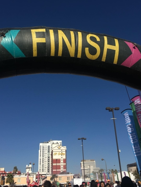 The Color Run 5K Finish Line